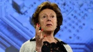 Neelie Kroes will einen einheitlichen EU-Mobilfunkmarkt.
