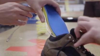 Schuhinnensohle zum Akkuladen