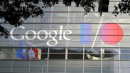 Konferenzgebäude der Google I/O in San Francisco