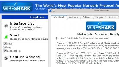 Wireshark 1.10 mit GTK+-3-Interface