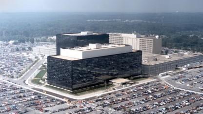 Undatierte Aufnahme des NSA-Hauptsitzes in Fort Meade, Maryland.