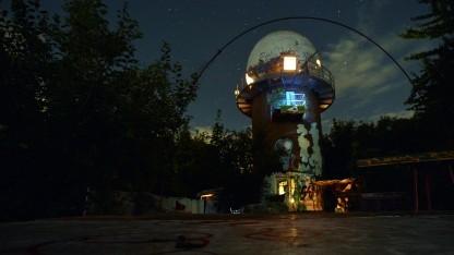 Ehemalige NSA-Abhöranlage auf dem Berliner Teufelsberg