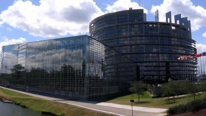 Das EU-Parlament in Straßburg