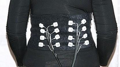 Vibrotaktiles Display: Dämpfungseffekt der Haut