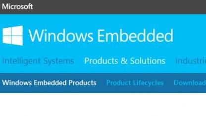 Windows Embedded Compact 2013 ist fertig.