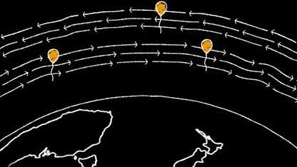 Ballons in der Stratosphäre sollen in entlegenen Regionen einen Interzugang bieten.