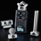 Zoom H6: Sechs-Spur-Audiorekorder mit Wechselmikrofonen
