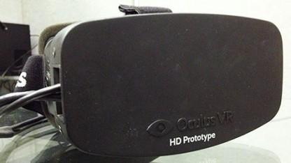 Protoyp der Endkunden-Oculus-Rift