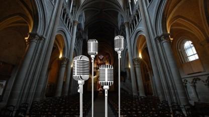 Mit der neuen Messmethode haben die Wissenschaftler bereits ein Bild der Lausanner Kathedrale erstellt.