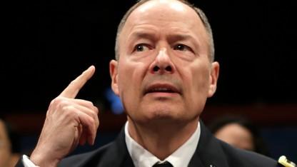 NSA-Chef Keith Alexander bei der Anhörung im US-Kongress