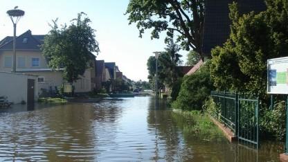Flutkatastrophe in Sachsen-Anhalt