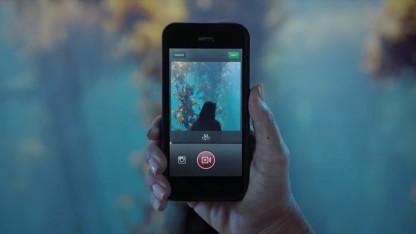 Filmen mit Instagram