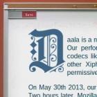 Daala: Dritter im Codec-Kampf