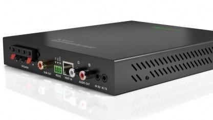 HDBaseT-Repeater mit Audioverstärker von Wyrestrom