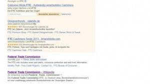 FTC: Suchmaschinen sollen bezahlte Links besser kennzeichnen