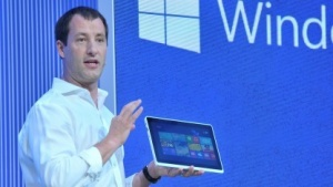 Antoine Leblond zeigte DirectX 11.2 mit Tiled Ressources in der Build-Keynote.
