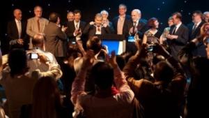 Die letztjährige Aufnahmefeier für die Internet Hall of Fame