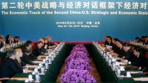 Zweiter Strategic and Economic Dialogue (2010 in Peking): Sorgen über Diebstahl geistigen Eigentums