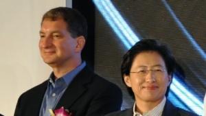 AMDs Führungsduo für Produkte, Mark Papermaster und Lisa Su (v. l.)
