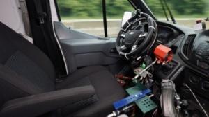 Roboter als Testfahrer bei Ford
