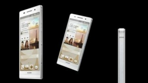 Huawei Ascend P6: Dünnes Android-Smartphone für 450 Euro