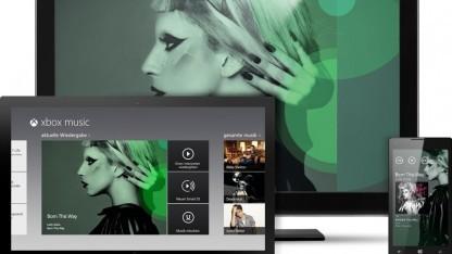 Grafik von Xbox Music