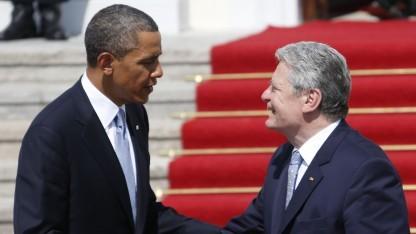 Joachim Gauck mit Barack Obama