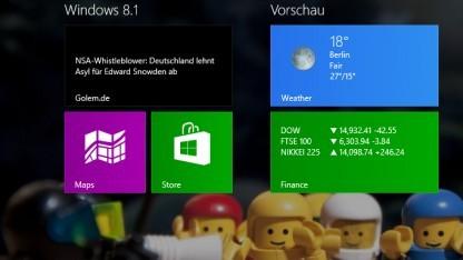 Für billige Geräte wird Windows 8.1 billiger.