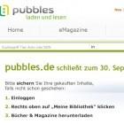 Digitaler Kiosk: Onlinekiosk Pubbles schließt Ende September