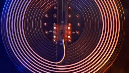 Spulenprototyp zur kontaktlosen Energieübertragung zwischen stationärer Ladestation und Elektroauto