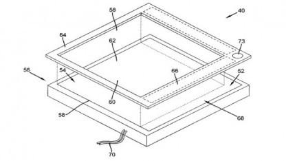 Patent 8,477,114 mit zwei Bildschirmen übereinander