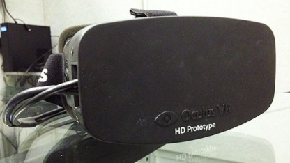 Oculus Rift HD - ein Prototyp mit 1080p statt 720p Auflösung