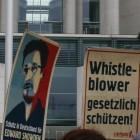 Edward Snowden: Protestaktion fordert mehr Rechte für Whistleblower