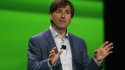 Don Mattrick bei der Präsentation der Xbox One im Juni 2013