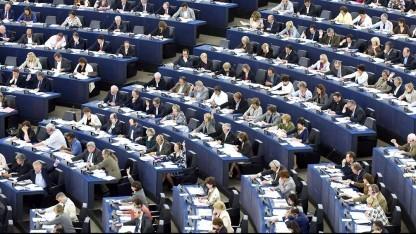 Plenarsitzung im Europaparlament (Symbolbild): Hilfe bei Cyberangriffen in acht Stunden