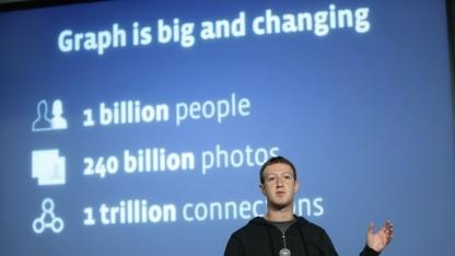 Facebook-Gründer Mark Zuckerberg bei der Vorstellung von Graph Search
