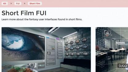 Noteloop hat eine kleine Filmdatenbank zu erfundenen Benutzerschnittstellen.