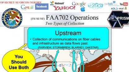 NSA-Programme wie Upstream hören den Internetverkehr ab, manches davon ist aber verschlüsselt.
