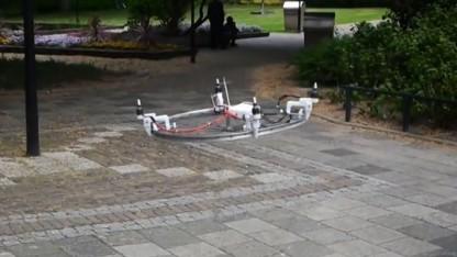 Drone It Yourself: Alle Felgen fliegen hoch.