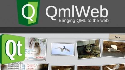 Mit Qmlweb sollen Web-Apps auch in QML geschrieben werden können.