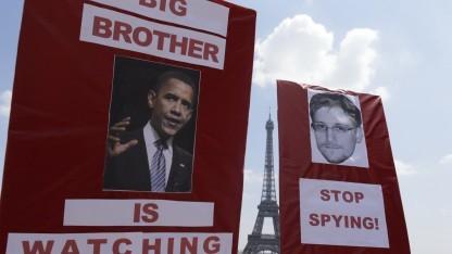 Proteste gegen die US-Überwachung in Frankreich