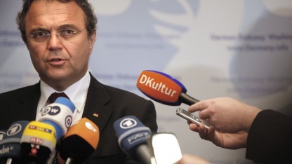 Friedrich nach dem Treffen mit US-Justizminister Eric Holder