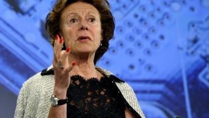In der Kritik: EU-Wettbewerbskommissarin Neelie Kroes