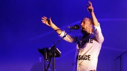 Thom Yorke (bei einem Auftritt seiner Band Atoms for Peace im Juli 2013): Aufstehen für unsere Musikerkollegen