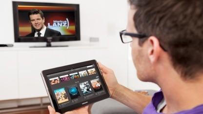 Mobiles Fernsehen: Telekom startet Fernsehen auf Tablet und Notebook