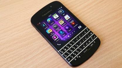 Das Blackberry Q10