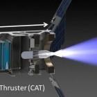 Raumfahrt: Raketentriebwerk soll Cubesats durchs Sonnensystem schießen