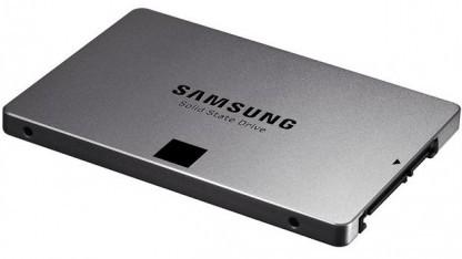Die SSD 840 Evo ist mit 19-Nanometer-Technik nur knapp in der sogenannten 10-Nanometer-Klasse.