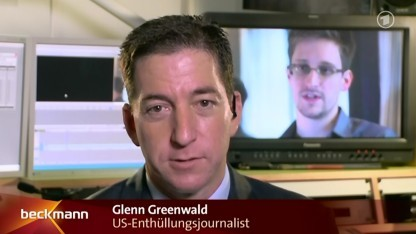 Glenn Greenwald im Interview mit Reinhold Beckmann