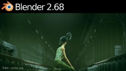Blender 2.68 bietet neue Werkzeuge und rendert schneller.